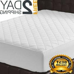 16Inch Memory Foam-Topper Mattress Cover Queen Size Bed Pad