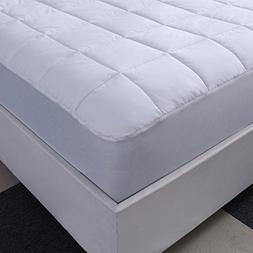 Allrange 233TC Essential Cotton Top Mattress Pad, Mattress T