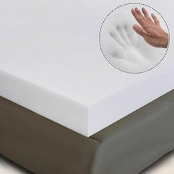 "3"" QUEEN SIZE MEMORY FOAM MATTRESS PAD, BED TOPPER 80""x60""x3"