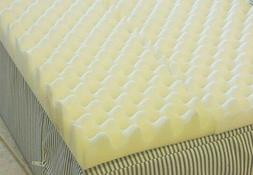 4in 72 L x 34W x4 Inch Soft Foam Twin Bed Pad Mattress Egg C