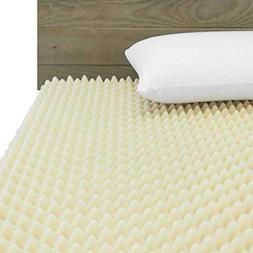 72L x 34W x 3 inch Soft Foam Twin Bed Pad Mattress Egg Crate