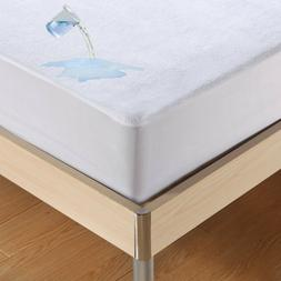 Cotton Mattress Cover Protector Waterproof Pad Bed Bug Dust