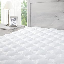 ExceptionalSheets Pillowtop Mattress Pad with Fitted Skirt -