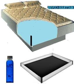 Queen Size 60x84 2000 Zipper Waterbed Mattress Cover w/ 12 m