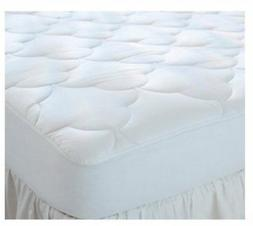 """Quilted Cot Size Cotton Top Camp Mattress Pad, 30"""" X 75"""" X 1"""
