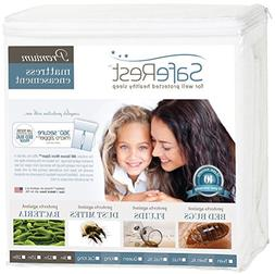 SafeRest Premium Zippered Mattress Encasement - Lab Tested B