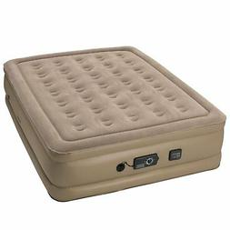 Serta Raised Queen-size Pillow Top Airbed with NeverFlat AC