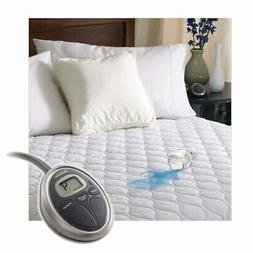Sunbeam SelectTouch Water-Resistant Quilted Electric Heated