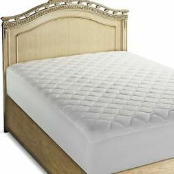 The Grand Fitted Quilted Mattress Pad Cover Hypoallergenic (