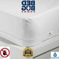 Mattress COVER Protector WATERPROOF Pad King Queen Size Bed