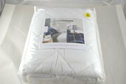 "AmazonBasics Quilted Mattress Pad, 18"" Deep, Twin-XL"