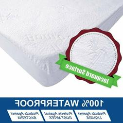 Bamboo Mattress Cover Protector Waterproof Pad Bed Cover Hyp