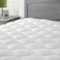 eLuxurySupply Bamboo Mattress Pad - King