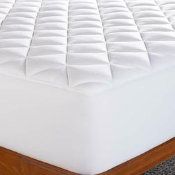 bamboo mattress pad ultra plush quilted pillow