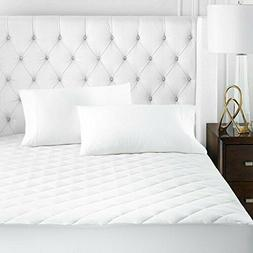 beckham hotel collection microfiber mattress pad quilted
