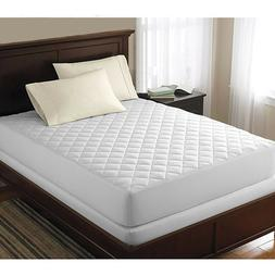 Quilted Mattress cover Bed Bug Dust Mite Allergy Relief Wate