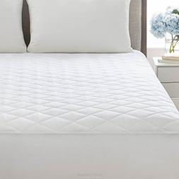 LinenSpa Plush Microfiber Mattress Pad with Deep Pocket Stre