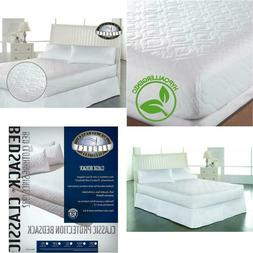 Bed Mattress Pad Cover Twin Xl White Protector Pillow Top To