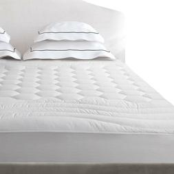Cal King Mattress Pad Cover Protector Hypoallergenic Fitted