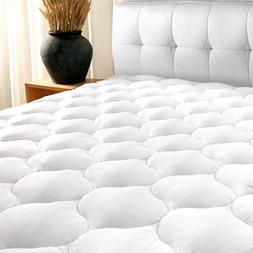 "California King Mattress Pad Cover 8-21""Deep Pocket - Cool"