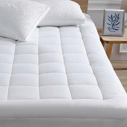 Cooling Cotton Mattress Pad Down Alternative Matress Topper