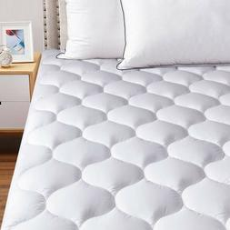 Cooling Mattress Pad Hypoallergenic Matress Topper Overfille