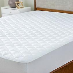 Microfiber Matress Pad Deep Pocket Fitted Skirt Quilted Cove
