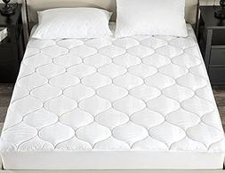 downluxe Down Alternative Fitted Mattress Pad  - 500TC 100%