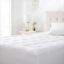 AmazonBasics Down-Alternative Mattress Topper Pad with Micro
