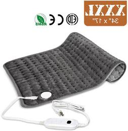 Remote Control Heated Mattress Pad Temperature Timing Contro