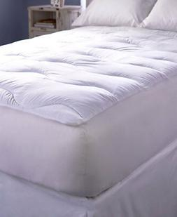 The Lakeside Collection Extra-Thick Wave-Quilted Mattress Pa