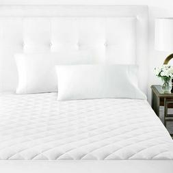 Sleep Restoration Fitted Microfiber Mattress Pad Cover Quilt