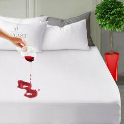 Fitted Waterproof Mattress Protector Hypoallergenic Cotton T