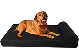 Dogbed4less XL HeadRest Pillow Orthopedic Cooling Memory Foa