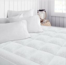 Beckham Hotel Collection Premium Microplush Mattress Pad - H