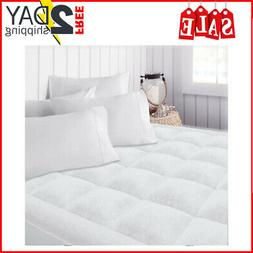 hotel collection microplush mattress pad