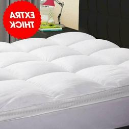 KARRISM Extra Thick Mattress Topper, Cooling Mattress Pad Co