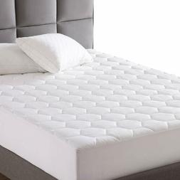 King Mattress Pad Quilted Mattress Protector Fitted Sheet Ma