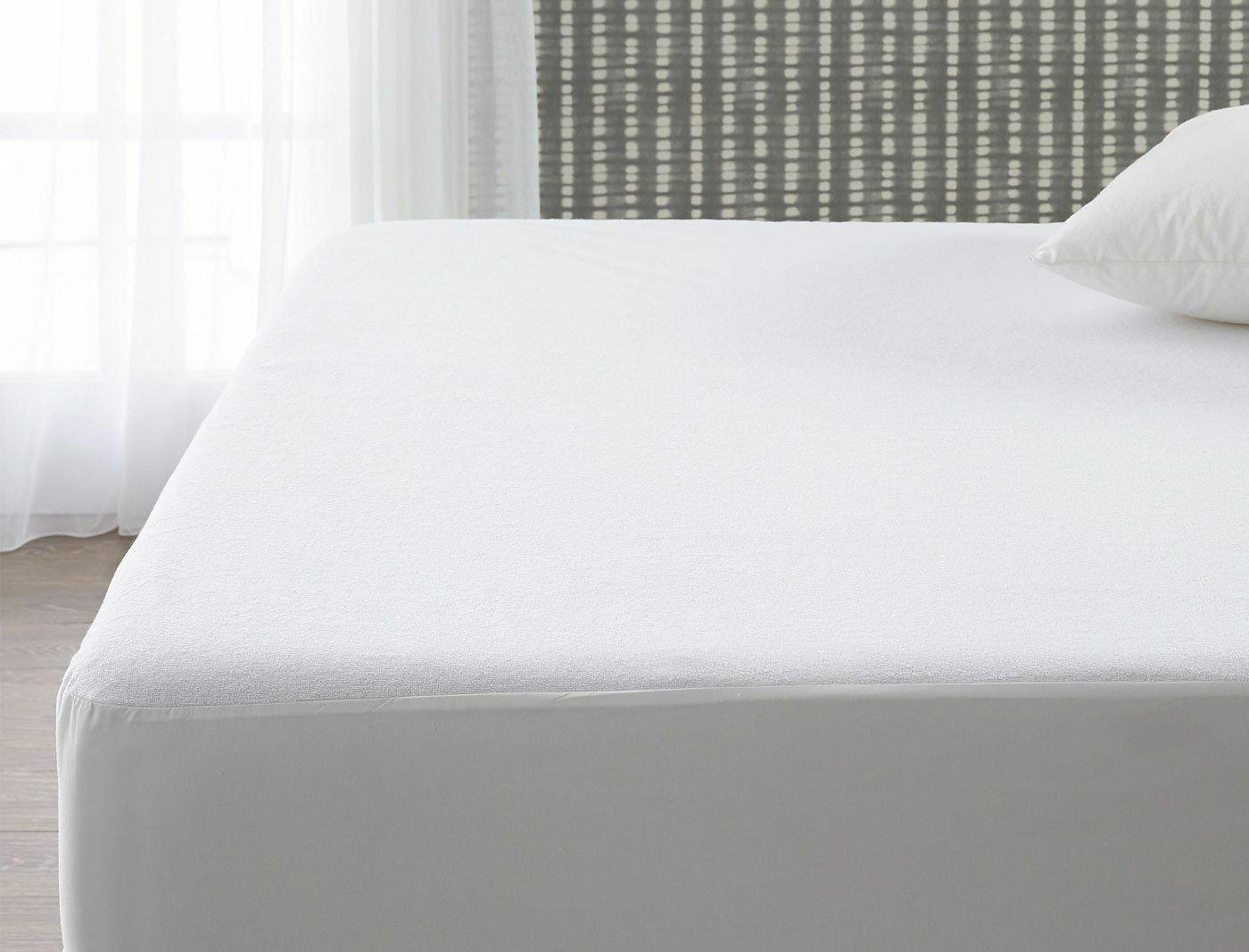 King Waterproof Pad Bed Cover Hypoallergenic Soft