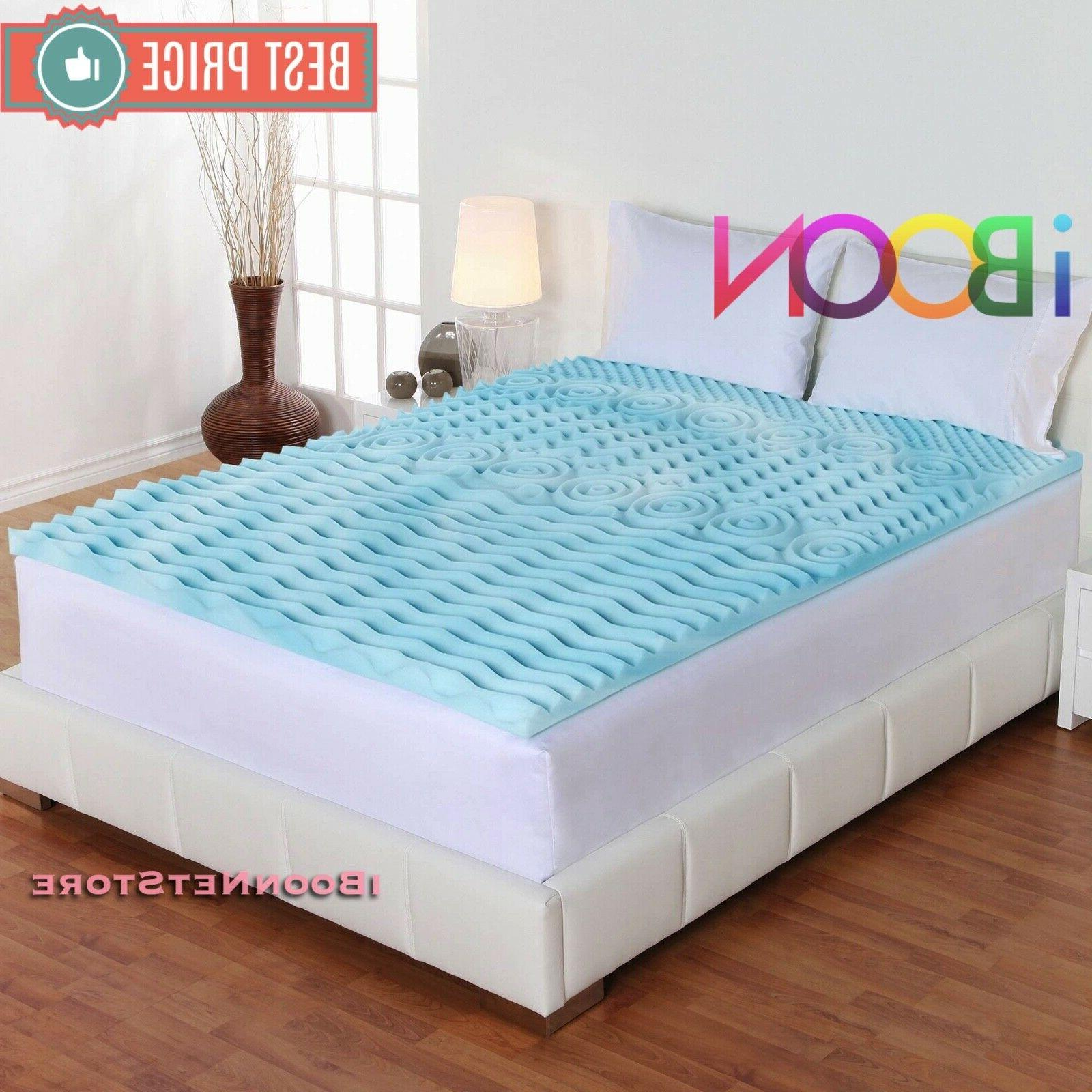 Orthopedic 3 Memory Foam Queen Size Bed Cover