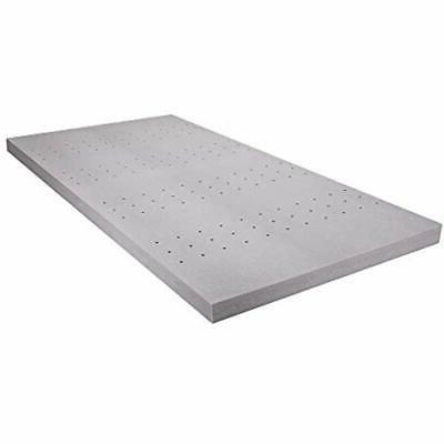 3 inch twin pad mattress topper black