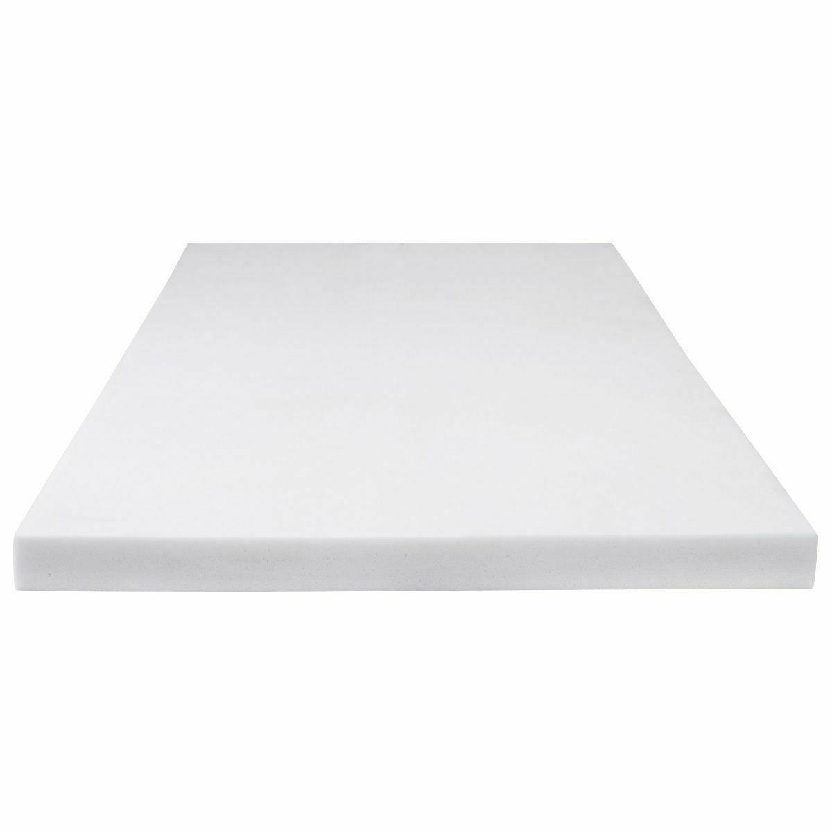"3"" QUEEN MEMORY , BED TOPPER 80""x60""x3"" FOAM MATTRESS PAD"