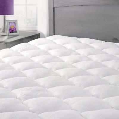 ExceptionalSheets Rayon From Bamboo Mattress Pad Fitted Skir