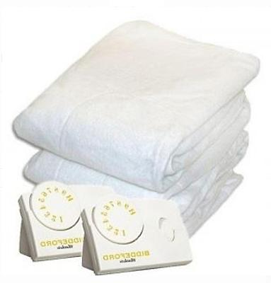 KING SIZE Heated Mattress Pad Bedding Heater Blanket Cover B