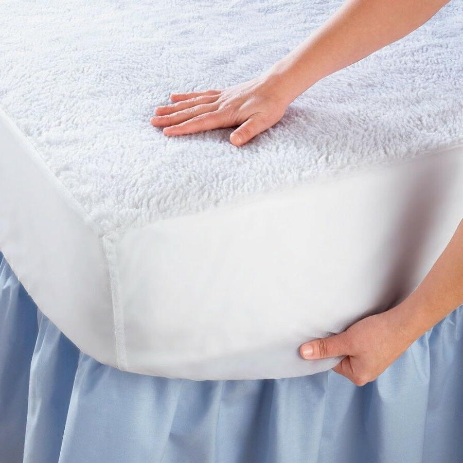 King Size Waterproof Mattress Pad Protector Bed Topper Cover
