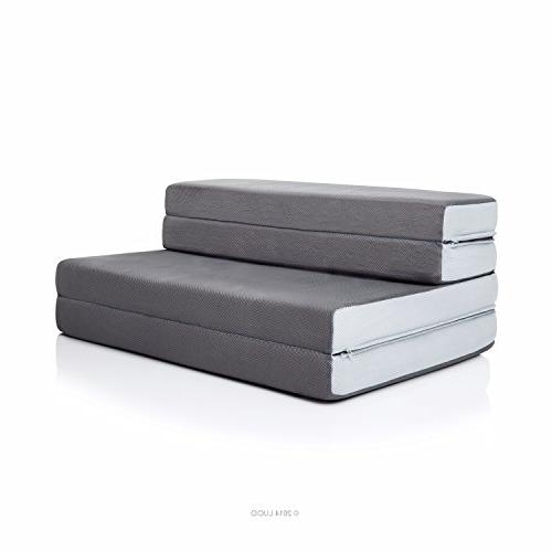 Swell Lucid 4 Inch Folding Mattress Full Xl Alphanode Cool Chair Designs And Ideas Alphanodeonline