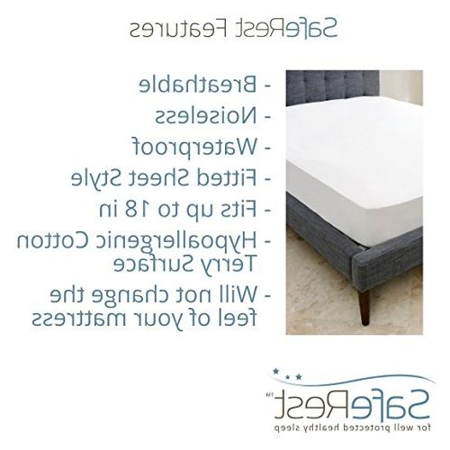 SafeRest Hypoallergenic Mattress - Vinyl Free