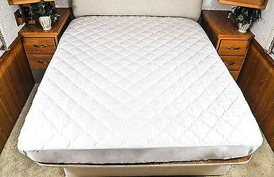 AB Lifestyles RV Camper Mattress Pad Diamond Quilted Fitted