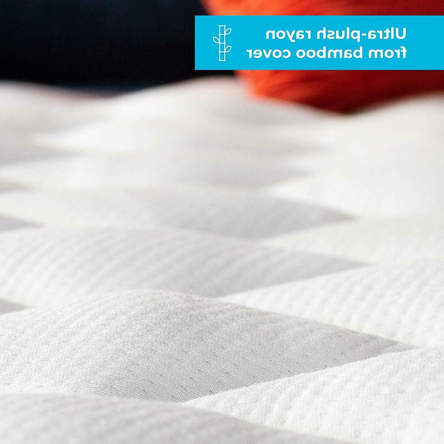 Bamboo Mattress Pad Ultra Fitted Deep Hypoallergenic