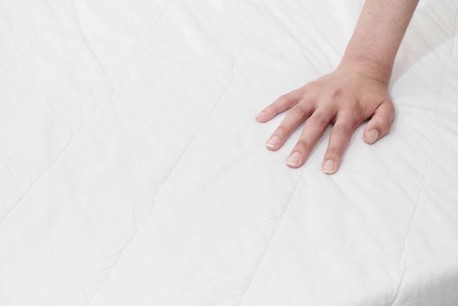 breathable and ultra soft microfiber mattress cover